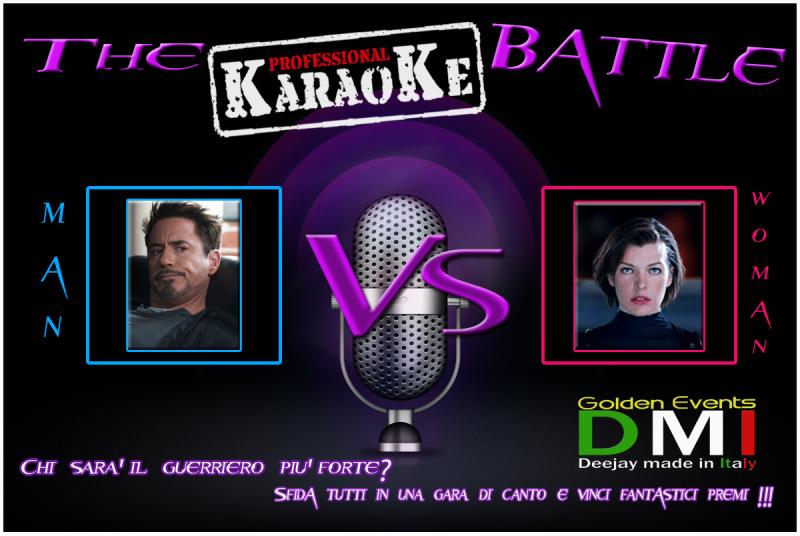 Karaoke a catania, gara di canto, alice resident evil, milla jovovich, tony stark, animazione karaoke