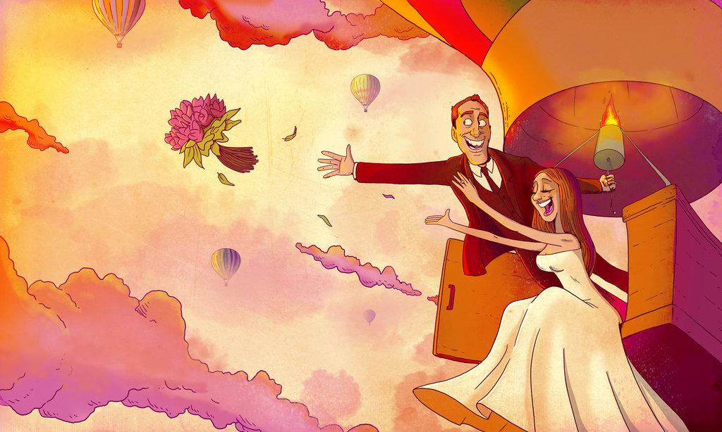caricatura-sposi-dipinti-dipinto-matrimonio-lo-voglio-al-mio-matrimonio