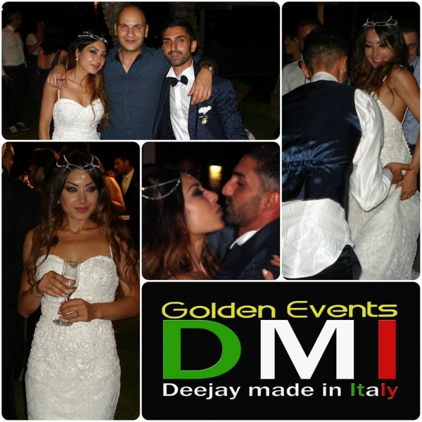 Gino e Viviana Sposi DMI Golden Events1
