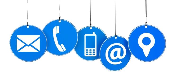 contatti DMI, Contattaci, Contact us, Contatti